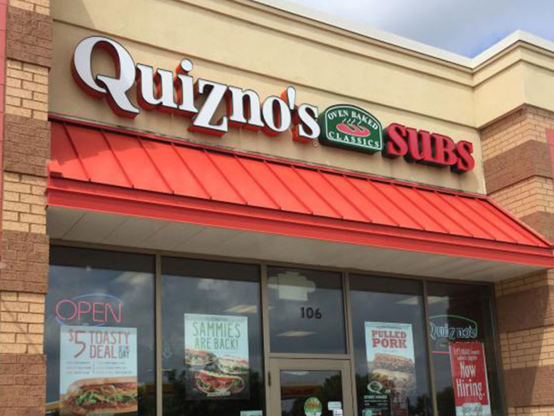 Quiznos Design and Construction